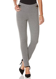 Rafaella Jacquard Ponte Pants