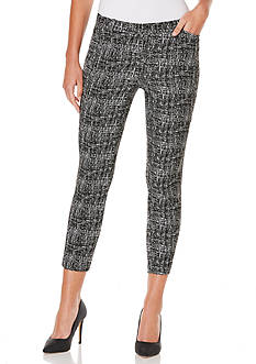 Rafaella Cross Hatch Jacquard Pant
