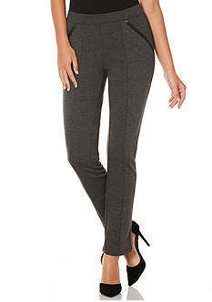 Rafaella Slim Fit Ponte Pants