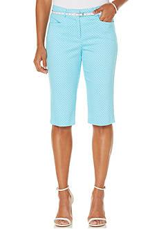 Rafaella Printed Skimmer Shorts