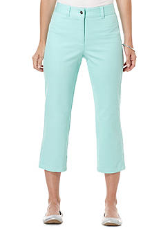 Rafaella Slim Fit Denim Capri Pant