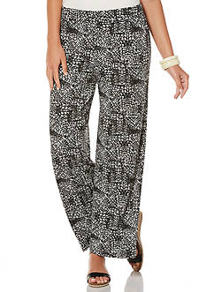 Rafaella Printed Wide Leg Pants