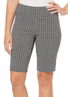 Rafaella Diamond Printed Bermuda Short