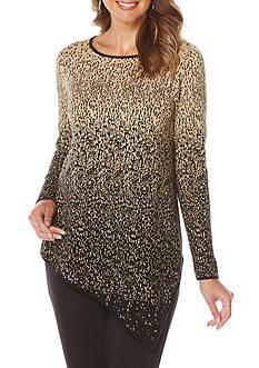 Rafaella Popover Jacquard Sweater