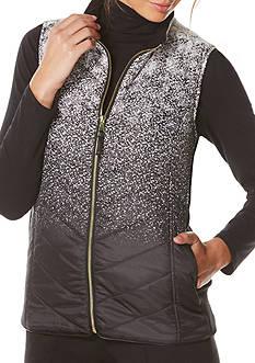 Rafaella Printed Puffer Vest