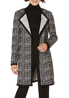 Rafaella Cross Hatch Jacquard Jacket