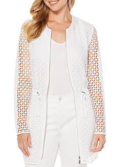 Rafaella Geo Lace Jacket
