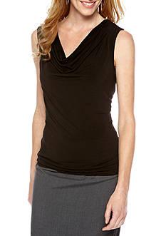 Rafaella Drape Cowl Neck Top