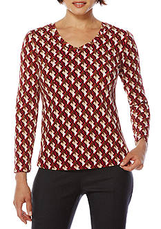 Rafaella Printed Top