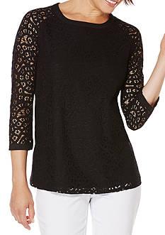 Rafaella Cotton Lace Top