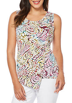 Rafaella Rainbow Snake Sleeveless Top