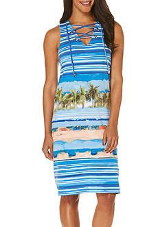 Rafaella Beach Scene Dress