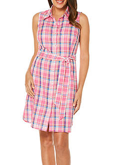 Rafaella Madras Shirt Dress