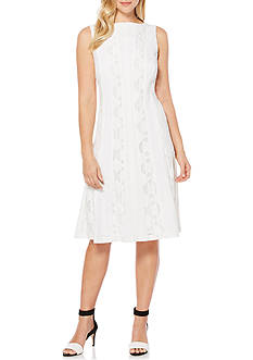 Rafaella Mixed Lace Dress