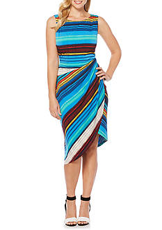Rafaella Static Stripe Dress
