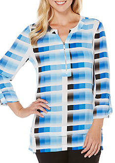Rafaella Ombre Stripe Top