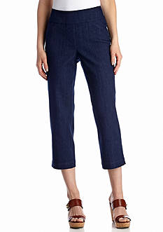 Kim Rogers® Diamond Cropped Jean Pants