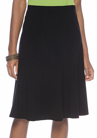 Kim Rogers® Pleated Gored Skirt