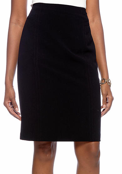 Kim Rogers® Slim Straight Skirt