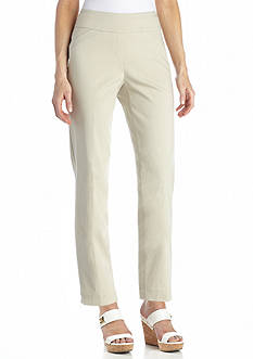Kim Rogers® Pull-On Comfort Waist Tech Stretch Crop Pant
