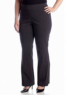 Kim Rogers® Plus Size Tech Stretch Pant (Short & Average Inseams)