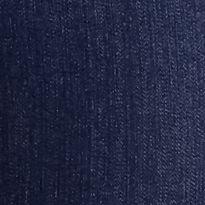 Plus Size Casual Pants: Medium Indigo Kim Rogers Plus Size Super Stretch Denim Pant (Short & Average Inseams)
