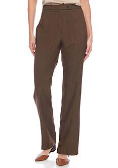 Kim Rogers Chelsea Menswear-inspired Short Stripe Trousers