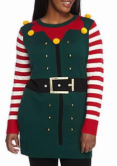 New Directions Plus Size Elf Sweatshirt