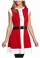 New Directions® Festive Tunic With Holly