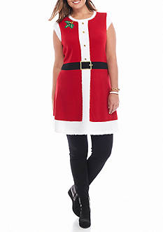 New Directions Plus Size Swing Skirt Holly and Bells Tunic