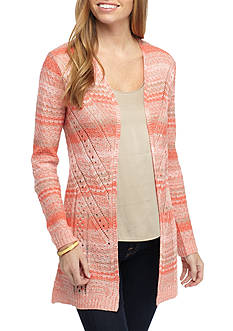 New Directions® Petite Size Open Stitch Cardigan