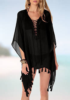 Becca Wanderer Poncho Swim Cover Up