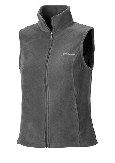 Columbia Petite Women's Benton Springs Fleece Full Zip Vest
