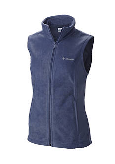 Columbia Petite Women's Benton Springs Fleece Full Zip Vest