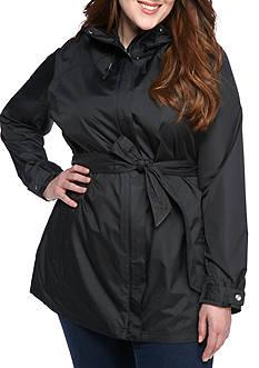Plus Size Columbia Pardon My Trench Rain Jacket