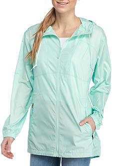 Columbia Long Sleeve Flashback Long Windbreaker