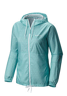Columbia Women's Plus Flash Forward Printed Windbreaker