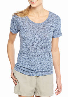 Columbia Womens Plus Sandy River Tee
