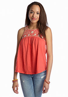Red Camel® Embroidered Swing Tank