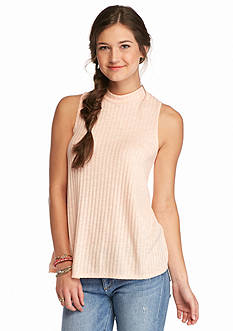 Red Camel High Neck Sweater Tank