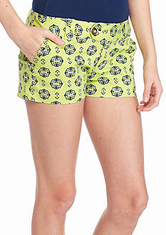 Red Camel® Medallion Print Shorts