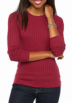 Red Camel Crew Neck Knit Favorite Fit Tee