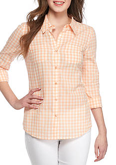 Red Camel Gingham Shirt