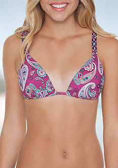 Malibu Dream Girl Spring Vibes Molded Push Up Swim Bra Top