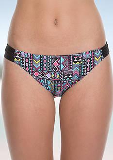 Malibu Dream Girl Printed Hipster Swim Bottom