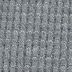 Juniors Sweaters: Smokey Grey Love Always Waffle Stitch Cardigan