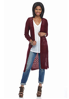It's Our Time Long Duster Cardigan