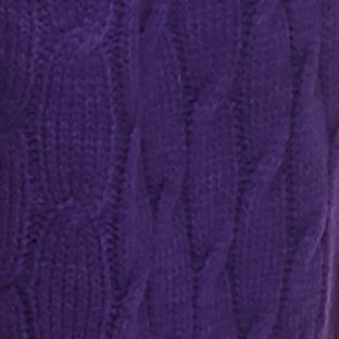 Women: Cardigans & Sweaters Sale: Purple Kim Rogers Open Detailed Cardigan