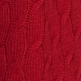 Women: Cardigans & Sweaters Sale: Red Kim Rogers Open Detailed Cardigan