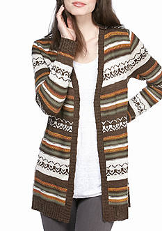 Kim Rogers Open Front Cardigan Novelty